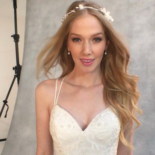 The beautiful'Anais' by Viva Bride❤️Embroidery adorns soft tulle, finished with sparkling straps at the back ❤️https://www.wed2b.co.uk/wedding-dresses/viva_bride?utm_content=buffer2fac3&utm_medium=social&utm_source=pinterest.com&utm_campaign=buffer https://video.buffer.com/v/59087c09470c27226eed6c83