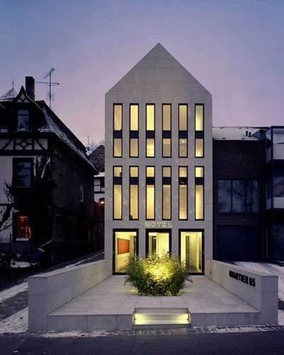 hotel quartier 65. max dudler | mainz architecture. 2007.