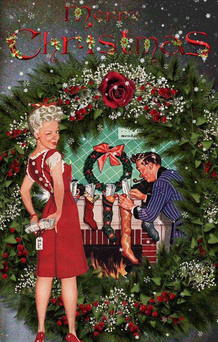 4470 best Vintage christmas images on Pinterest   Vintage ...