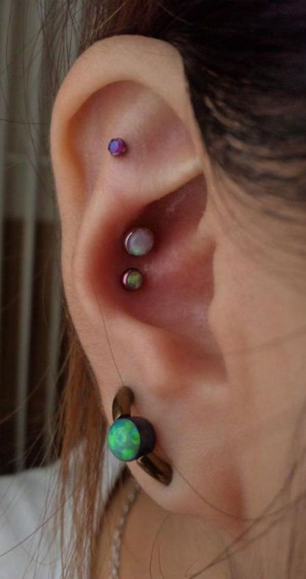 + Inner and Outer Conch Piercing Ideas You Can't go Wrong With