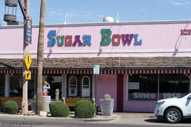 Iconic Sugar Bowl - Scottsdale, AZ | Matt LOVED this place when we went to Arizona!