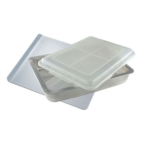 Air Bake Pans Airbake Nonstick Cake Pan With Cover 13 X