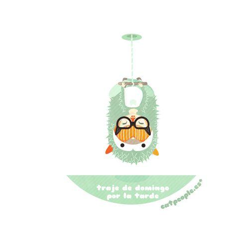 Traje de domingo por la tarde (el Erizo) http://catpeople.es/traje-de-domingo-por-la-tarde/