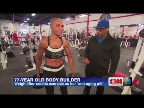 Guinness book oldest female bodybuilder......  Started at age 50... now in her 70s.  Great inspiration!