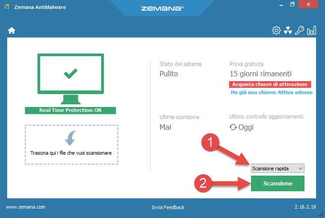 protezione aggiuntiva in tempo reale con Zemana AntiMalware | Sicurezza informatica