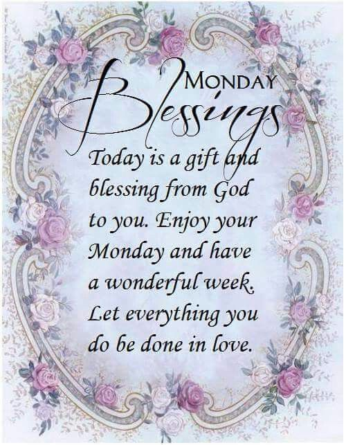 Happy Monday...