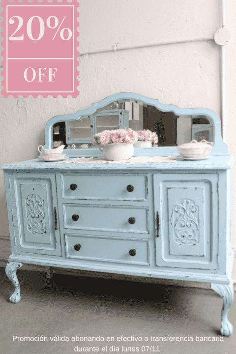 M s de 1000 ideas sobre muebles restaurados en pinterest - Muebles restaurados vintage ...