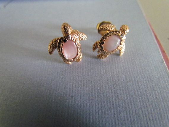 14k Gold Turtle Earrings By Blingthings On Etsy 199 95 Cly Clothes Pinterest And Jewelry