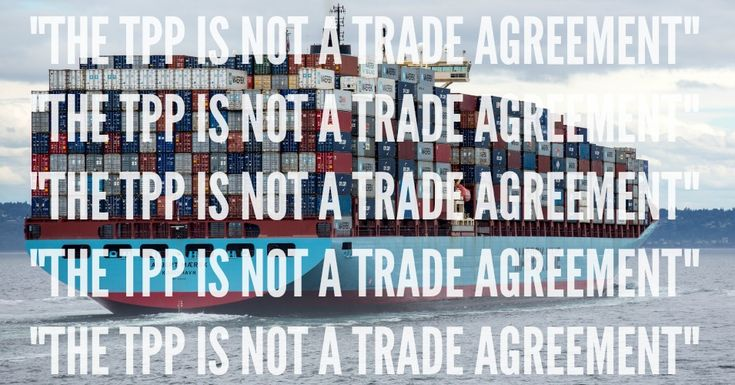 """This is a message to activists trying to fight the Trans-Pacific Partnership (TPP). Stop calling the TPP a """"trade"""" agreement. TPP is a corporate/investor rights agreement, not a """"trade"""" agreement. """"Trade"""" is a good thing; TPP is not. Every time you use the word """"trade"""" in association with the TPP, you are helping the other side. """"Trade"""" is a propaganda word. It short-circuits thinking. People hear """"trade"""" and the brain stops working. People think, """"Of course, trade is good."""" And that ends…"""