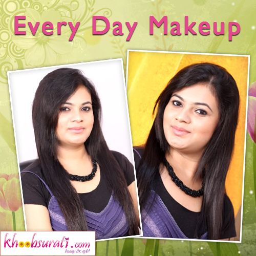 Every Day Makeup : Every Day Makeup Tutorial For Beginners!!!!!   WHEN GOING OUT EVERYDAY DO YOU STAND IN FRONT OF MIRROR THINKING WHAT TO APPLY AND HOW? THIS TUTORIAL PROVIDES YOU WITH SIMPLE INSTRUCTIONS ON HOW TO APPLY EVERYDAY MAKE UP. JUST DO IT ONCE AND NEXT DAY YOU DON'T HAVE TO THINK TWICE BEFORE APPLYING MAKE UP. GO THROUGH THESE STEP BY STEP INSTRUCTIONS AND GO OUT EVERYDAY .....................LUKNG BEAUTIFUL.!!!!!!!!!!!!!!!!!!!!!!!!!!!!!!!!!!!!!!!! | khoobsurati