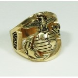 MR10 Solid Gold Marine Corps Ring customized with your rank on the side, Made in the USA and Licensed by the US Marine Corps.  This is the Marine Corps ring I proudly wear everyday.  Available at:   http://www.usmc.biz/jewelry/marine-corps-rings/mr10-solid-gold-marine-corps-ring.html