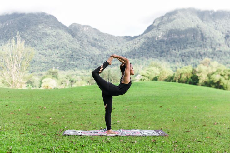 We are loving the outdoor yoga session on our aztec movement yoga mat! www.yoginirepublic.com