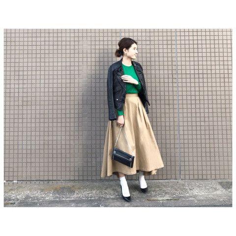 グリーン×ベージュ♡雑誌掲載のお知らせ の画像|yokoオフィシャルブログ「プチプラコーデ術」Powered by Ameba