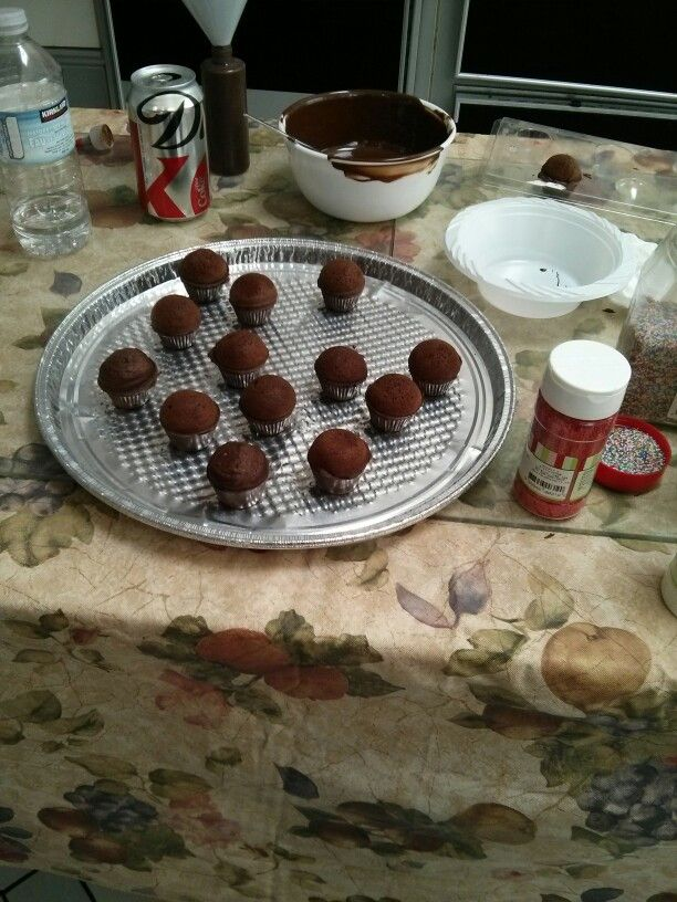 Cupcake bites | My cupcakes cake pops and more | Pinterest