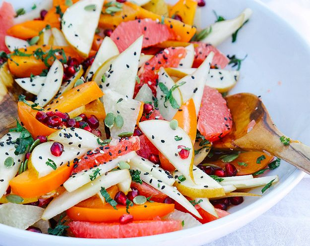 Winter Fruit with Rosemary and Vanilla Rooibos Syrup   31 Delicious Things To Cook In January