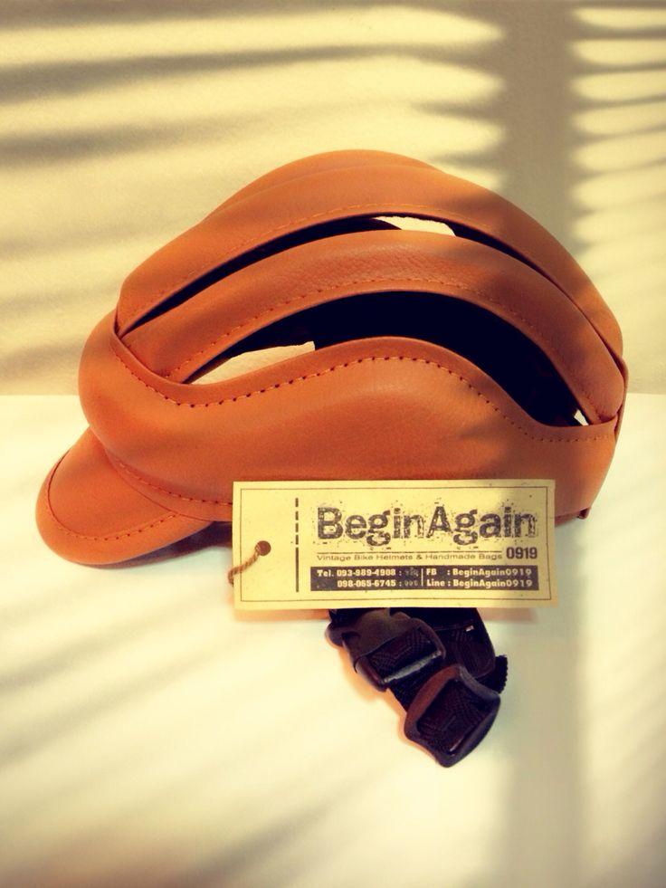 Vintage Bike Helmets by BeginAgain0919 ID: BG01