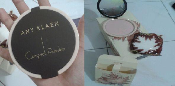 Any Klaen 3 in 1 Compact Powder (41 gram)  (moisturizer - foundation - alas bedak)  RM24.00