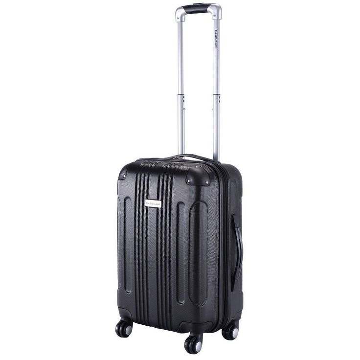 """Expandable 20"""" Rolling Carry-On Travel Hard Case Suitcase Luggage Storage Bag  #Unbranded"""