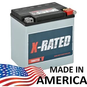 The HDX30L is the exact replacement for your Original Equipment Harley Davidson battery!    -Included - FREE fast shipping -18 month warranty  - AGM Technology - Non-Spillable - Vibration Resistant - Solid Lead Terminals  The HDX30L fits the following Harley Davidson Models;   - Electra Glide 1997-2012 - Road Glide 2008-2012 - Road King 1997-2012 - Street Glide 2006-2012 - Tri Glide 2009-2012 - Ultra Classic 1997-2012