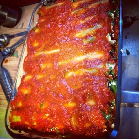 Tofu & Spinach Stuffed Cannelloni: An EASY Recipe for ANYONE new to VEGAN COOKING