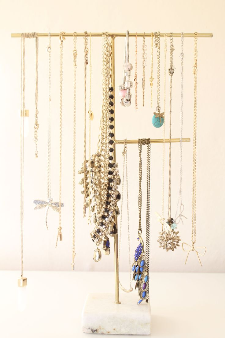 Oliver Bonas Jewellery Stand // Beauty and the Chic                                                                                                                                                     More