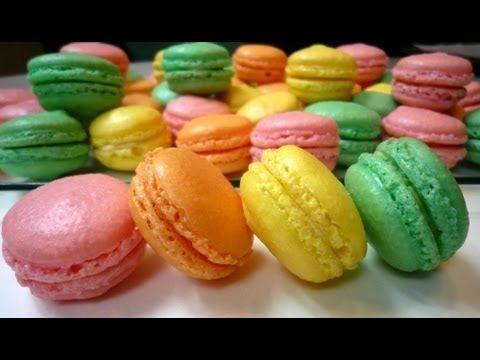 Französische Macarons - YouTube