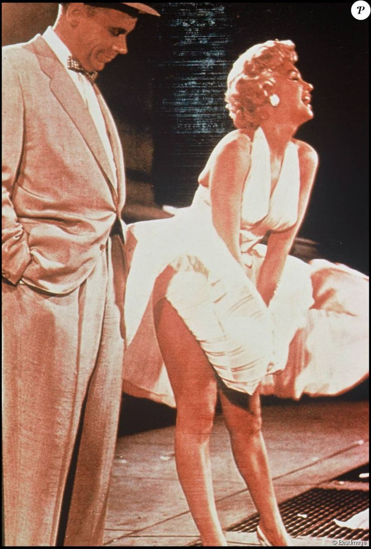 Marilyn Monroe et la scène culte de Sept ans de réflexion.