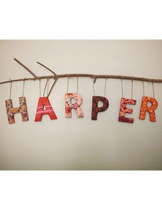 Nursery Decor Ideas with Baby's Name | The Bump Blog – Pregnancy and Parenting News and Trends
