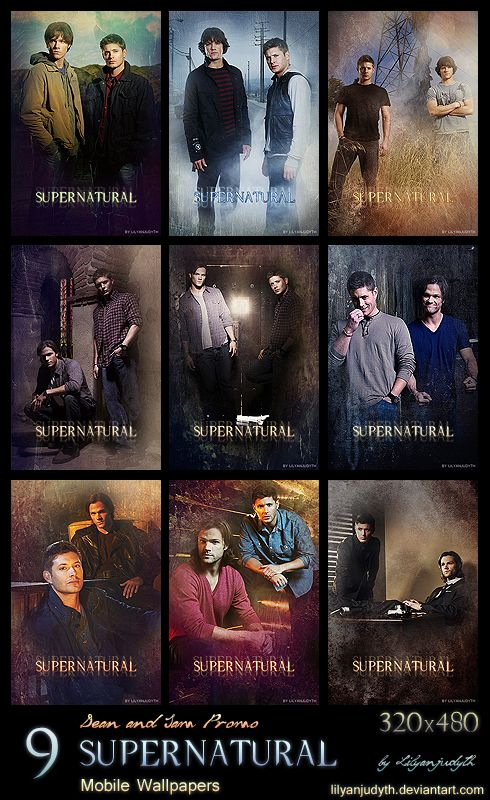 Mobile Wallpapers - Sam and Dean Promo by lilyanjudyth.deviantart.com on @deviantART