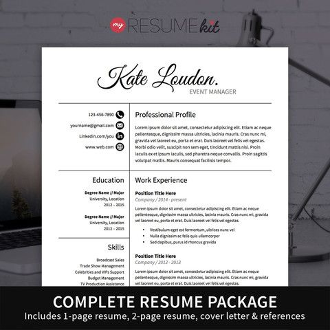 Best Resume Templates Images On   Cv Resume Template