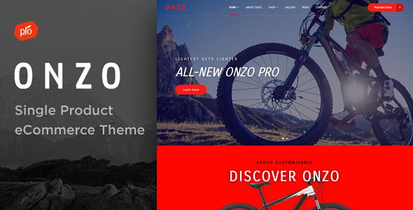 Onzo - Single Product & Bike Shop eCommerce Theme (WooCommerce)  https://themeforest.net/item/onzo-single-product-bike-shop-ecommerce-theme/20299490
