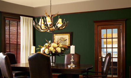 Game room hunter eb45 1 foyer possibility oatmeal - Green paint colours for living room ...