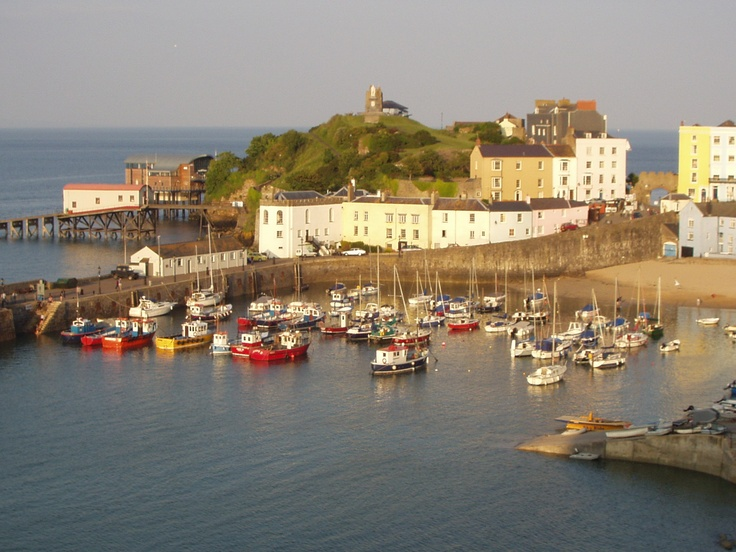 Tenby Harbour. Wales
