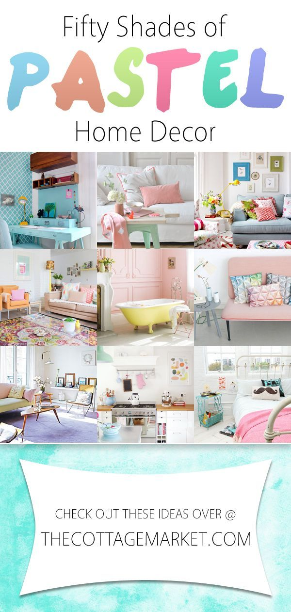 cool 50 Shades of Pastel Home Decor - The Cottage Market by http://www.best99-home-decor-pics.club/home-decor-colors/50-shades-of-pastel-home-decor-the-cottage-market/
