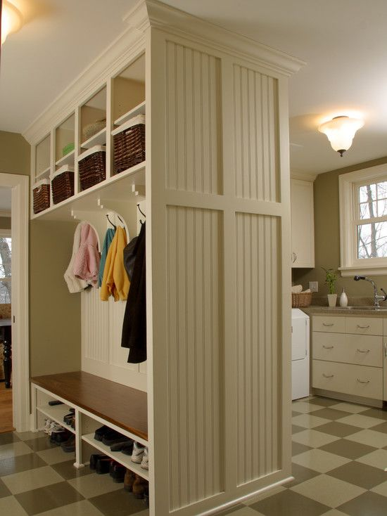 Mudroom designs, pictures, remodels, decor, and ideas.