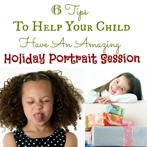 Do you dread holiday portraits every year? Try these six tips to save your sanity while helping your kids enjoy the overall experience!