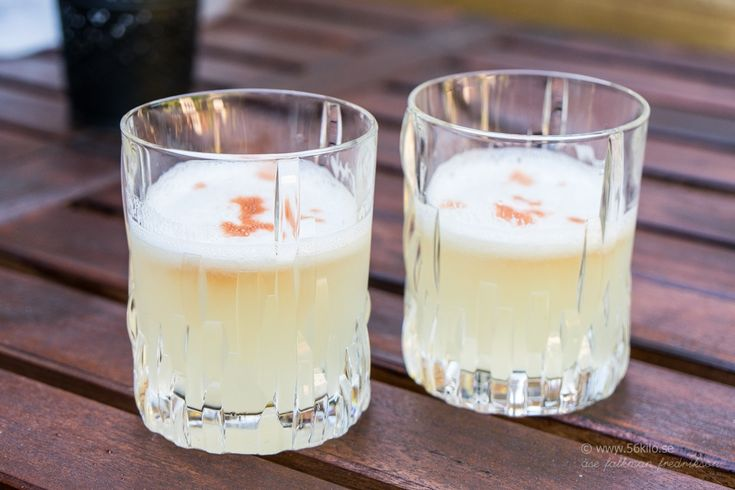 LCHF - Low Carb, Fredagsdrinken: Pisco Sour