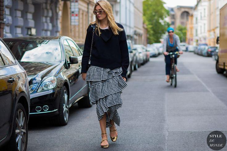 Camille Charriere Street Style Street Fashion Streetsnaps by STYLEDUMONDE Street…