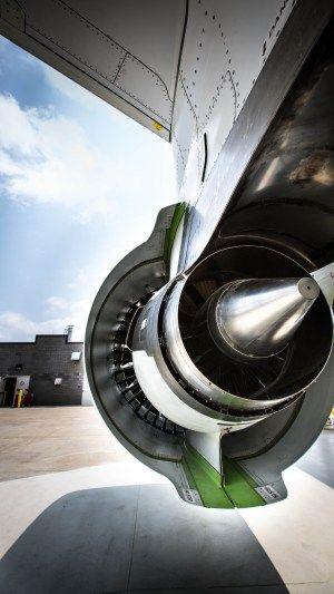 How Bombardier's CSeries is ushering in a new era of super quiet jets. Photo: Pratt & Whitney's PurePower geared turbofan engine