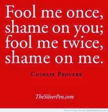 April Fool's Quote -- Chinese Proverb