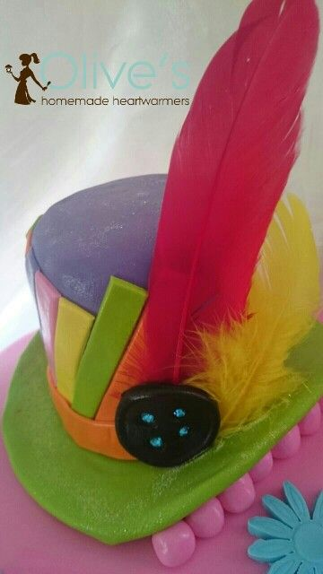 Funky Hat Cake Topper