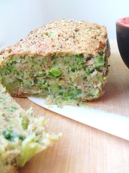 Cake fondant brocoli et thon