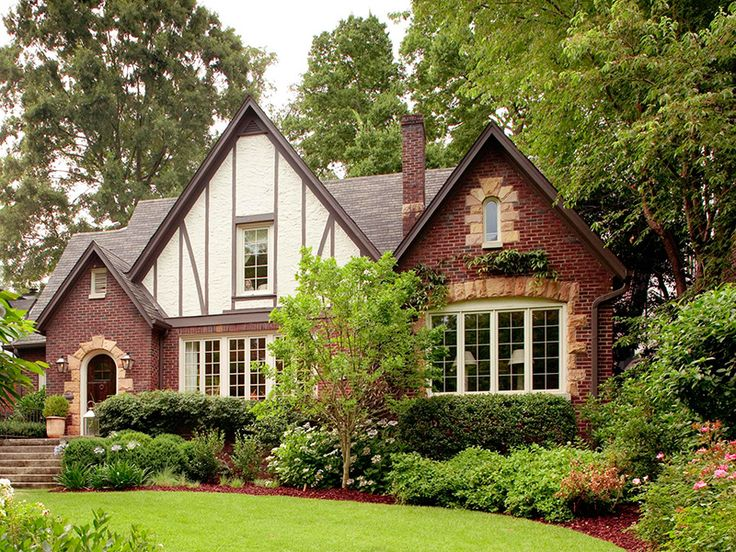 27 best coll tudor revival 1900 present images on for Small tudor house