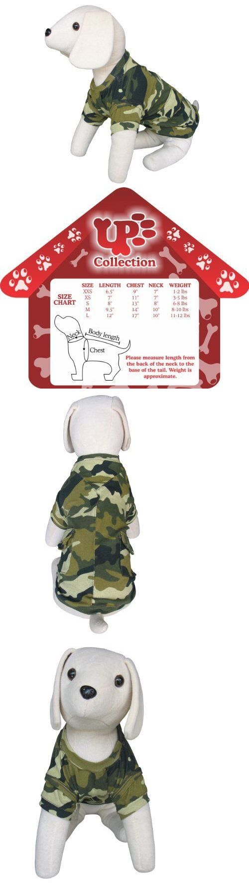Pet Supplies: Up- The Camo T-Shirt And Vest Small Pet Shirts Dog, New -> BUY IT NOW ONLY: $109.09 on eBay!