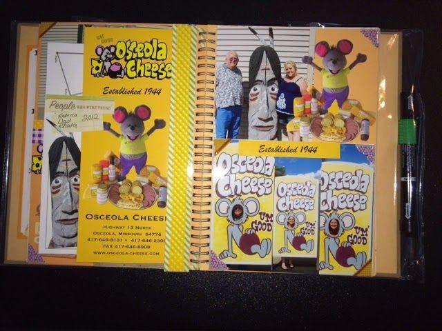 Rock, Paper, Scissors, & Scrap: Tasty Style Smashbook - Osceola Cheese Factory