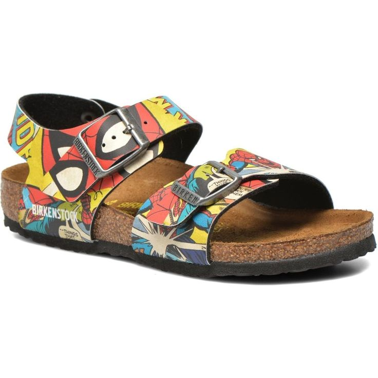 Birkenstock Sandalen New York Birko Flor Spiderman