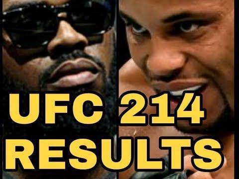 MMA Jon Jones vs Daniel Cormier results (UFC 214 card)