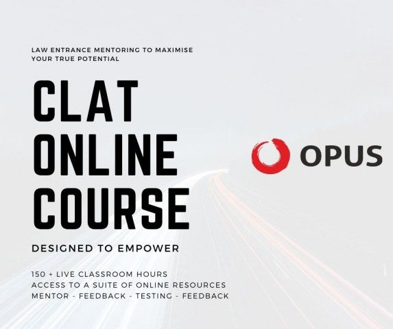 Get The Ultimate Edge For Clat Preparation With The Opus Clat Online Coaching Program In 2020 Coaching Program Curriculum Design Testing Strategies
