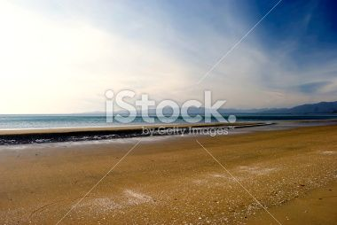 Pakawau Beach, Collingwood, Golden Bay, New Zealand Royalty Free Stock Photo