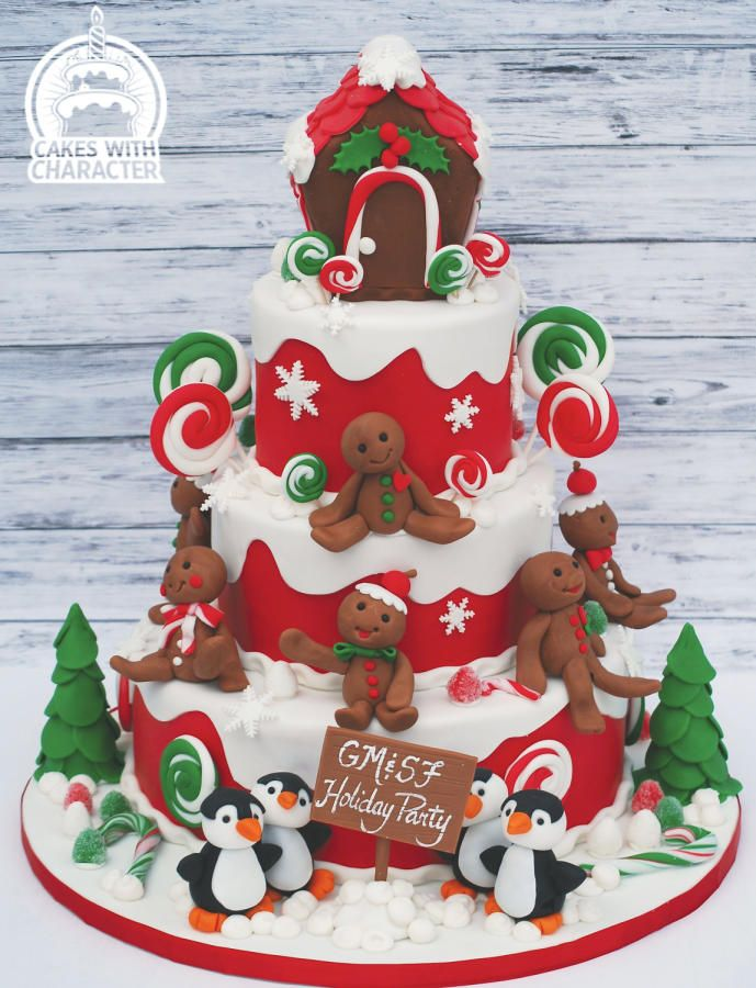 A Gingerbread Christmas by Jean A. Schapowal